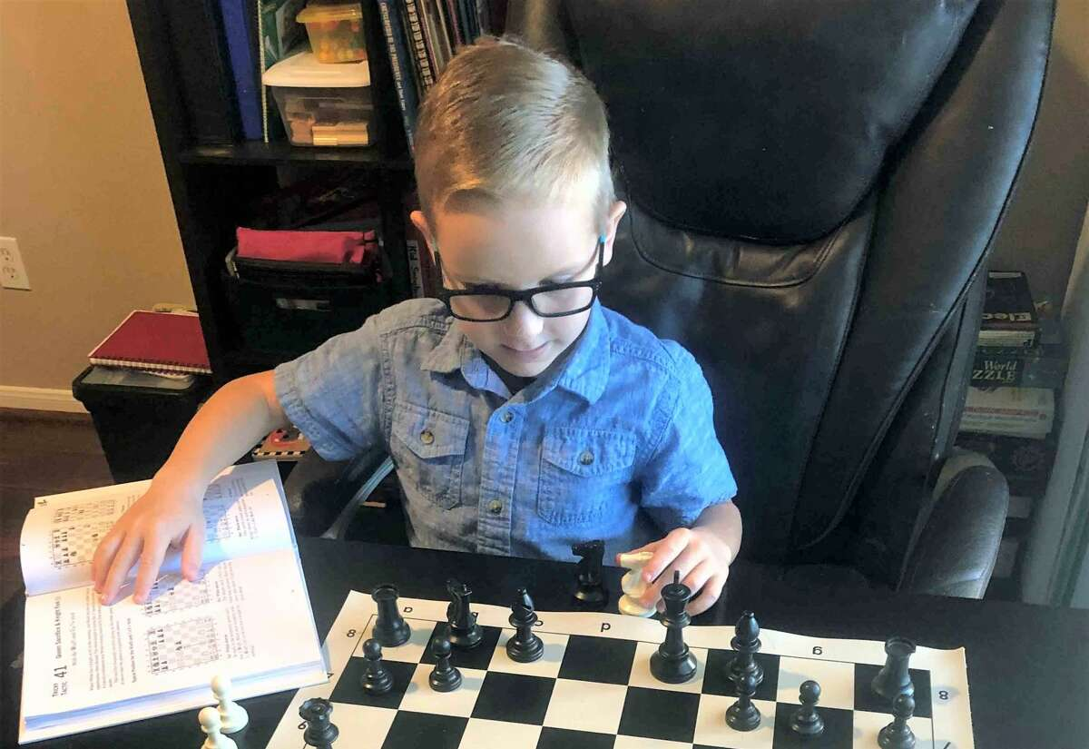 Ryan Mecham started playing chess at age 5.