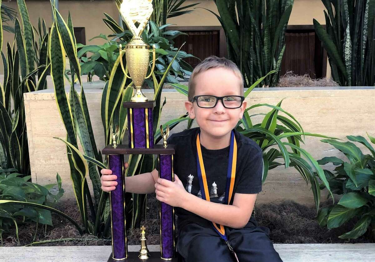 Ryan Mecham is a 7-year-old Houston chess prodigy.