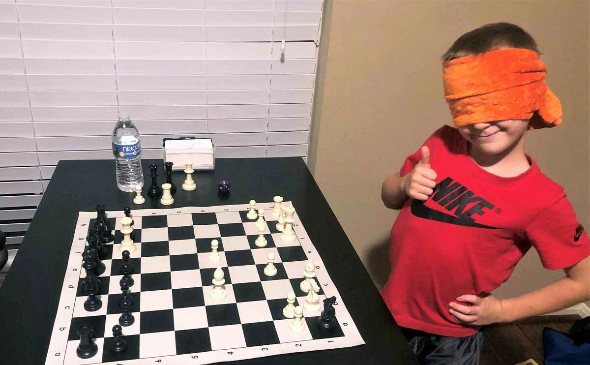 Ryan has started playing blindfold chess.