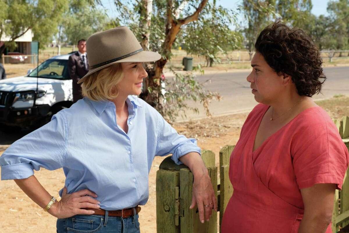 Rachel Griffiths and Deborah Mailman in 'Total Control'