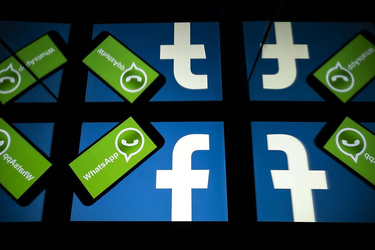 US federal and state antitrust enforcers filed suit against Facebook on December 9, 2020 claiming the social media giant abused its dominant position with its acquisitions of messaging services Instagram and WhatsApp. (Photo by Lionel BONAVENTURE / AFP) (Photo by LIONEL BONAVENTURE/AFP via Getty Images)