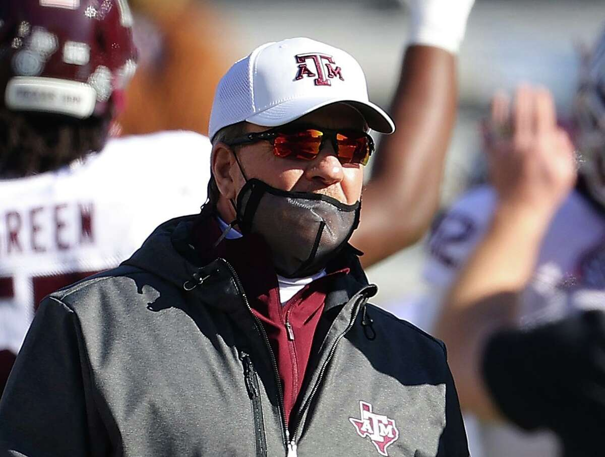 Texas A&M and coach Jimbo Fisher need some things out of their control to fall right if they're to make the College Football Playoff.