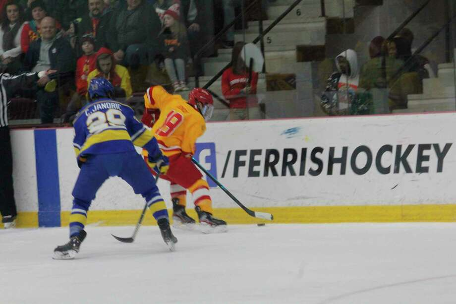 Ferris's hockey team will hope to open its season with Bowling Green this weekend. (Pioneer file photo)