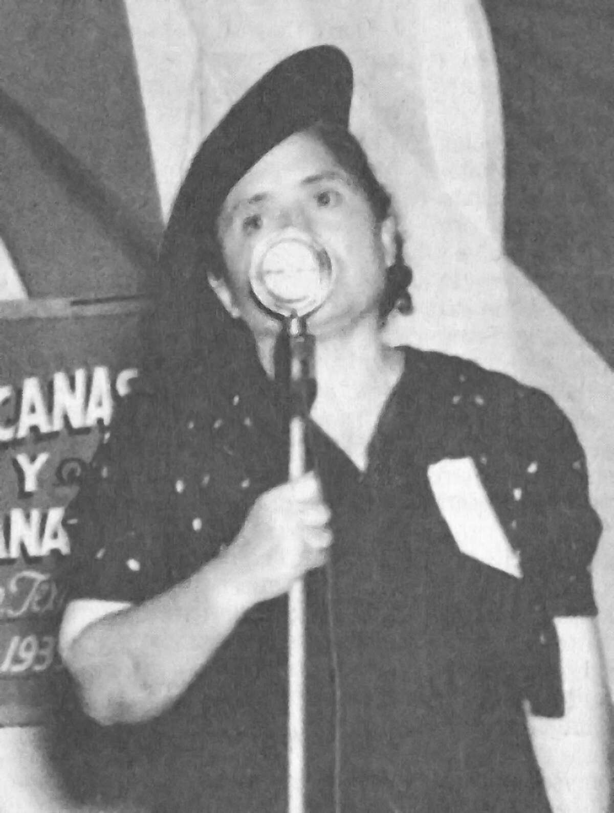 Radio announcer and civil rights activist Mar?'a Rebecca Latigo de Hern‡ndez (1896-1986) is among those featured in the Museo del Westside?•s inaugural online exhibit on Latinas left out of history. The exhibit was planned to commemorate the 100th anniversary of the 19th Amendment.