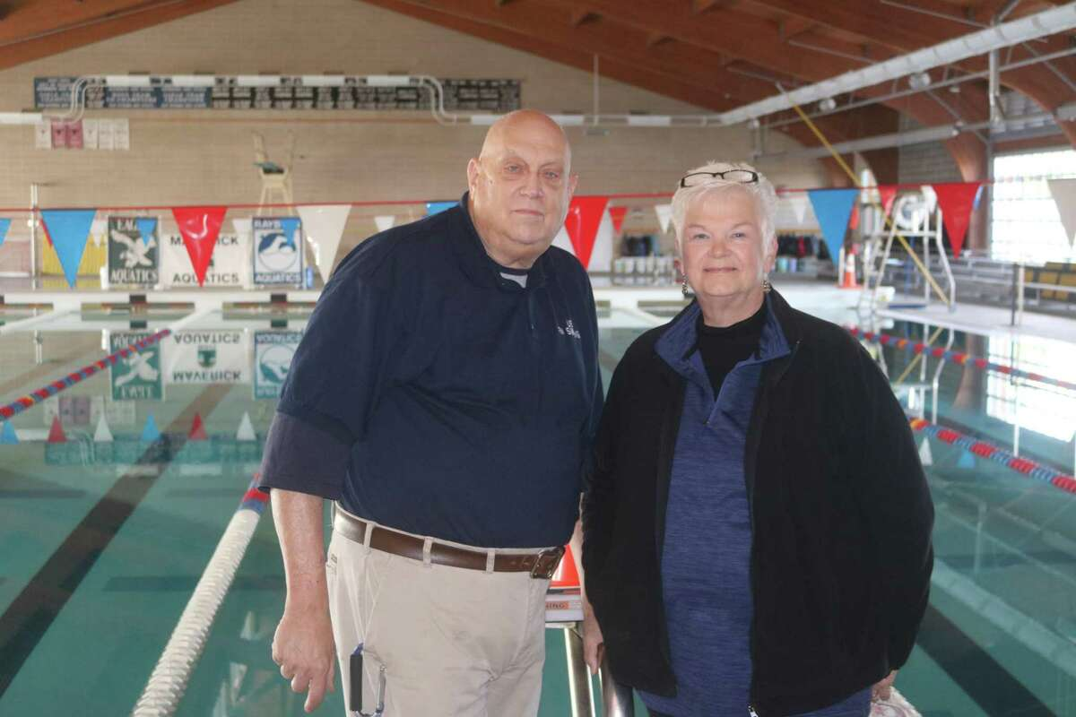 Robert and Darla Kelly haven't seen much action in the school district's new Shippey Aquatic Center, even less since the pandemic's arrival.