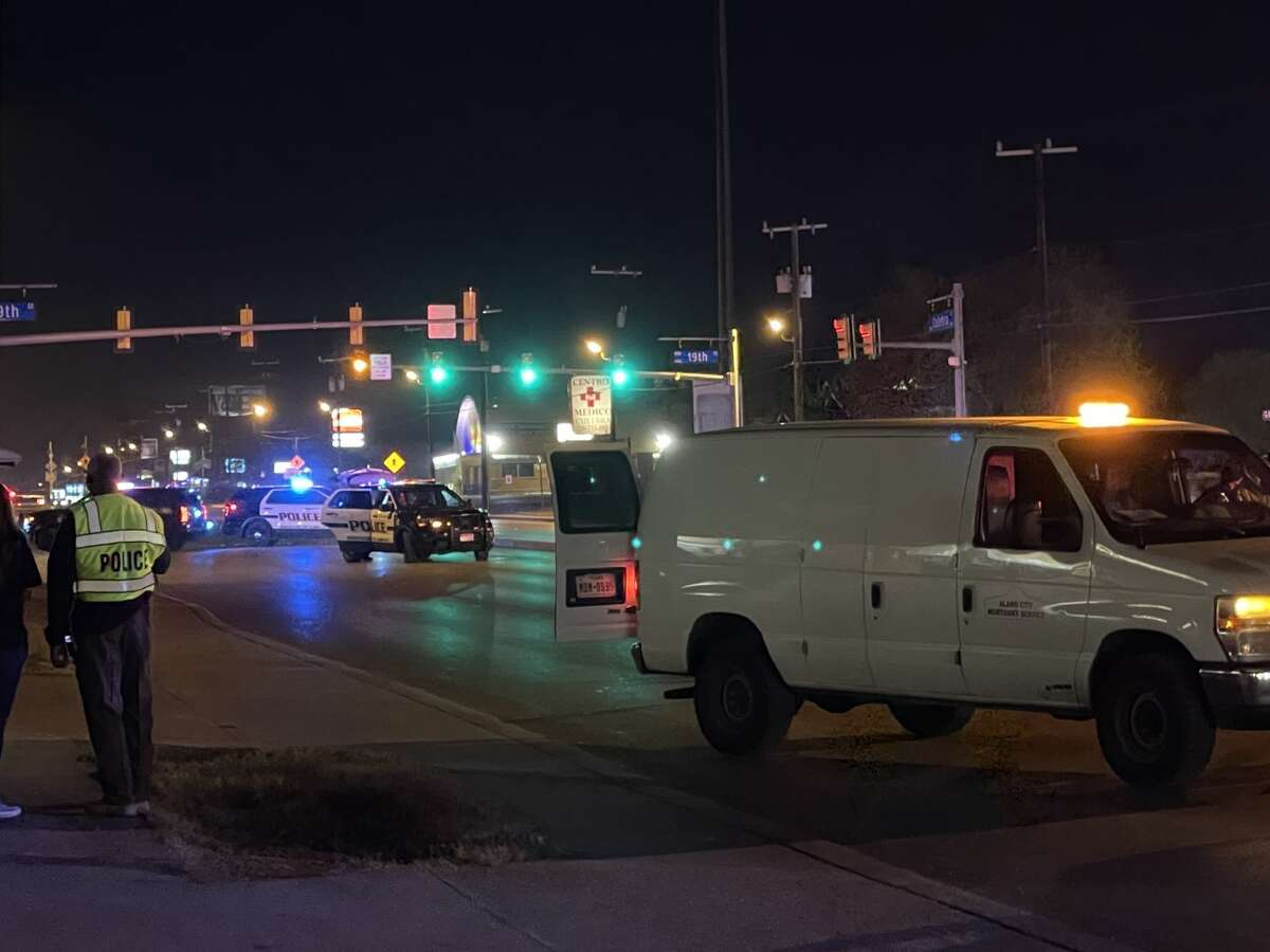 Police said two people were struck and killed on the West Side of San Antonio Wednesday night.