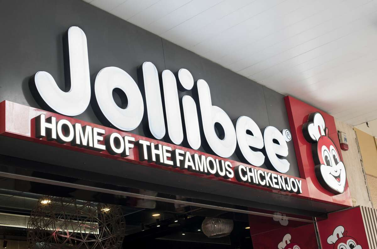 Filipino multinational chain of fast food, Jollibee, in Mong Kok, Hong Kong. (Photo by Miguel Candela/SOPA Images/LightRocket via Getty Images)