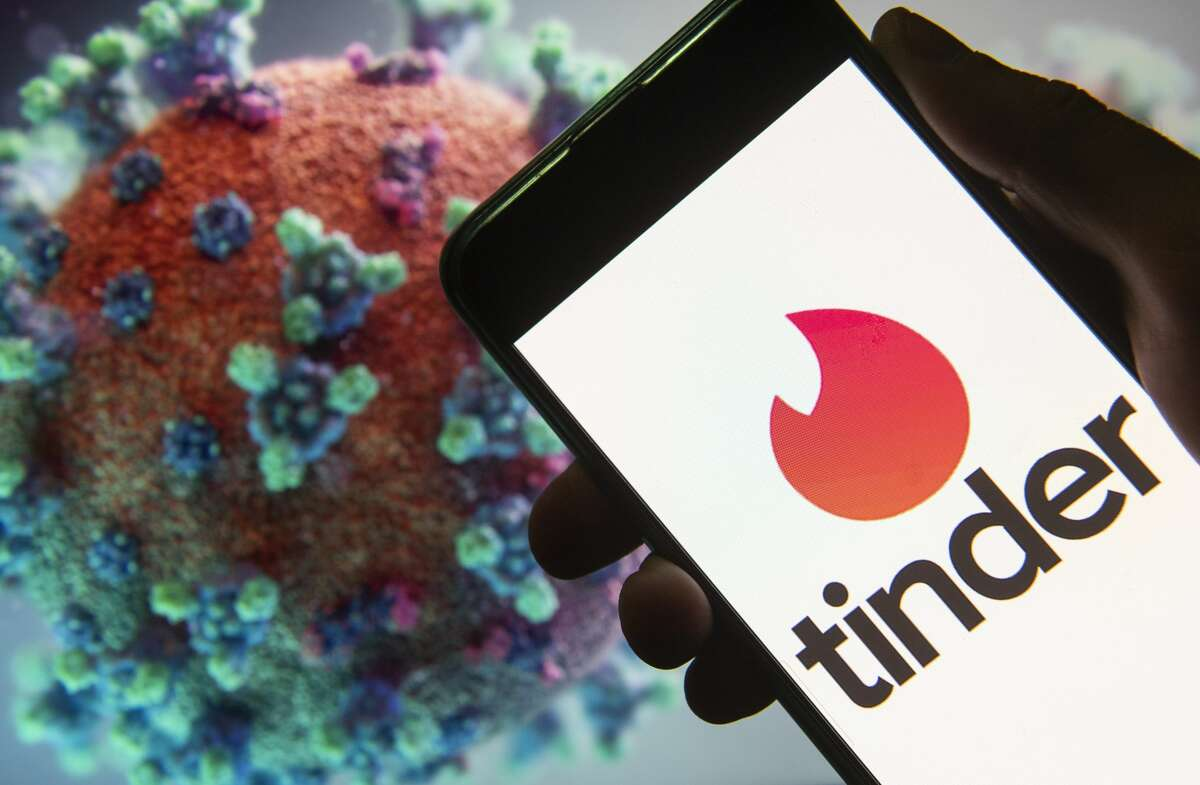 Did you find yourself using Tinder a lot more during the COVID-19 pandmic? (Photo Illustration by Budrul Chukrut/SOPA Images/LightRocket via Getty Images)