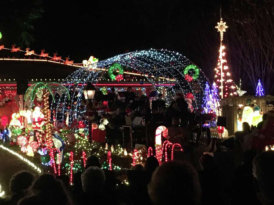 The annual Bad Bob's Christmas concert on the lawn takes place Saturday, Dec. 19, at 6 p.m. at 103 S. Delmont Street in Conroe. The event features past and present performers in the Conroe Jazz Connection group. Photo: Photo By Sondra Hernandez