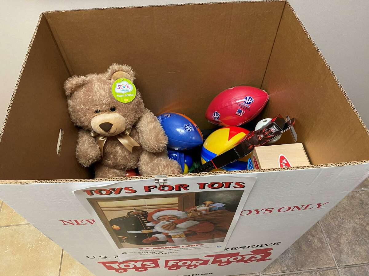 The Spring Fire Department's Toys for Tots collection will wrap up this Sunday evening, Dec. 13, 2020.