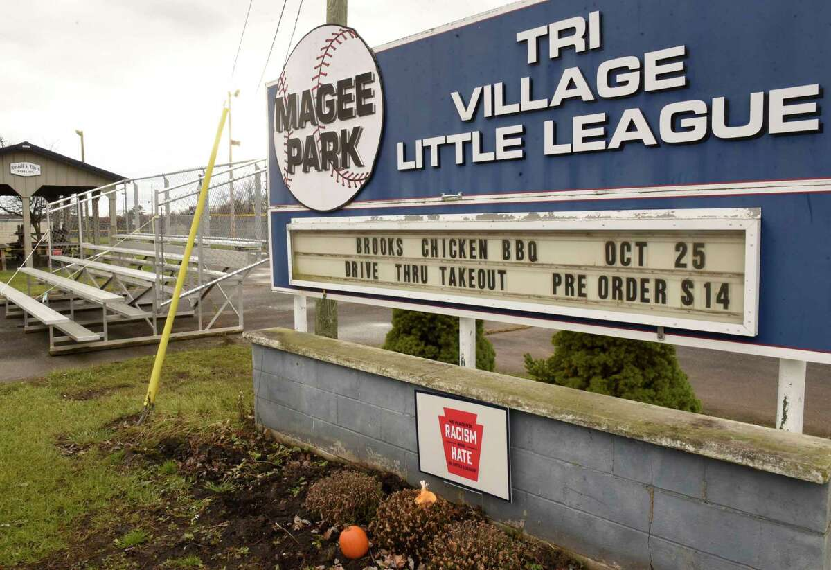 FILE. Letter writer says discussion over ballpark sign should not be 'either/or.' (Lori Van Buren/Times Union)