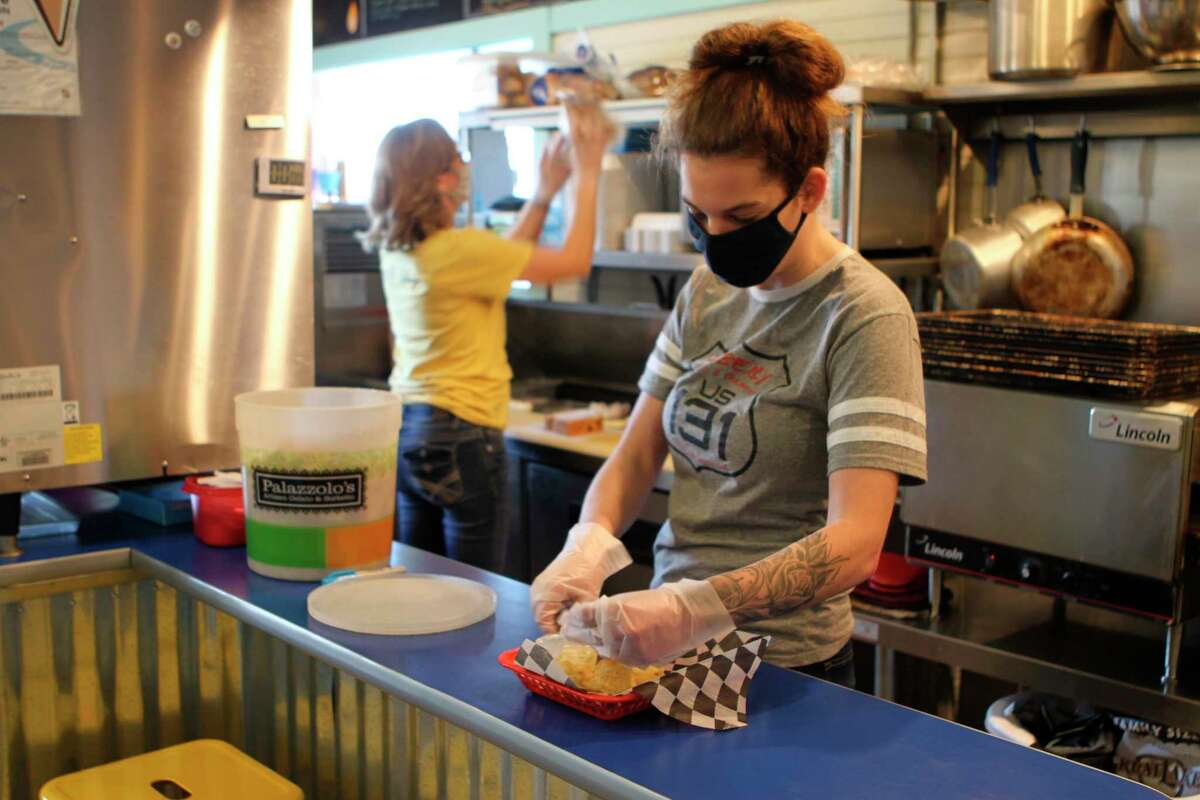 Fatbelly Deli and Creamery serves a wide variety of sandwiches, locally-made ice cream and more on a daily basis. (Pioneer photo/Taylor Fussman)