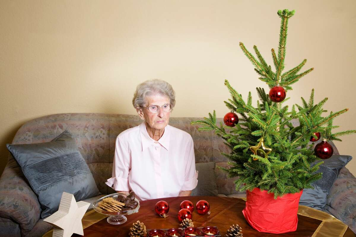 A woman is afraid she will be alone for the holidays.