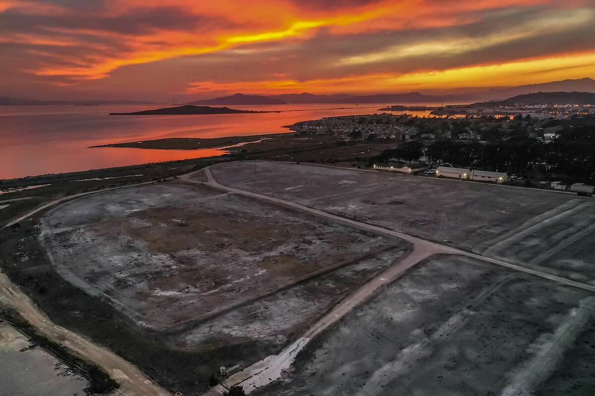 Campus Bay, an 87-acre plot of land, is polluted with over 100 chemicals. A developer plans to build 4,000 housing units, 20,000 square foot grocery store with about 30 acres of parks and open space. Wednesday, Dec. 9, 2020 in Richmond, Calif.