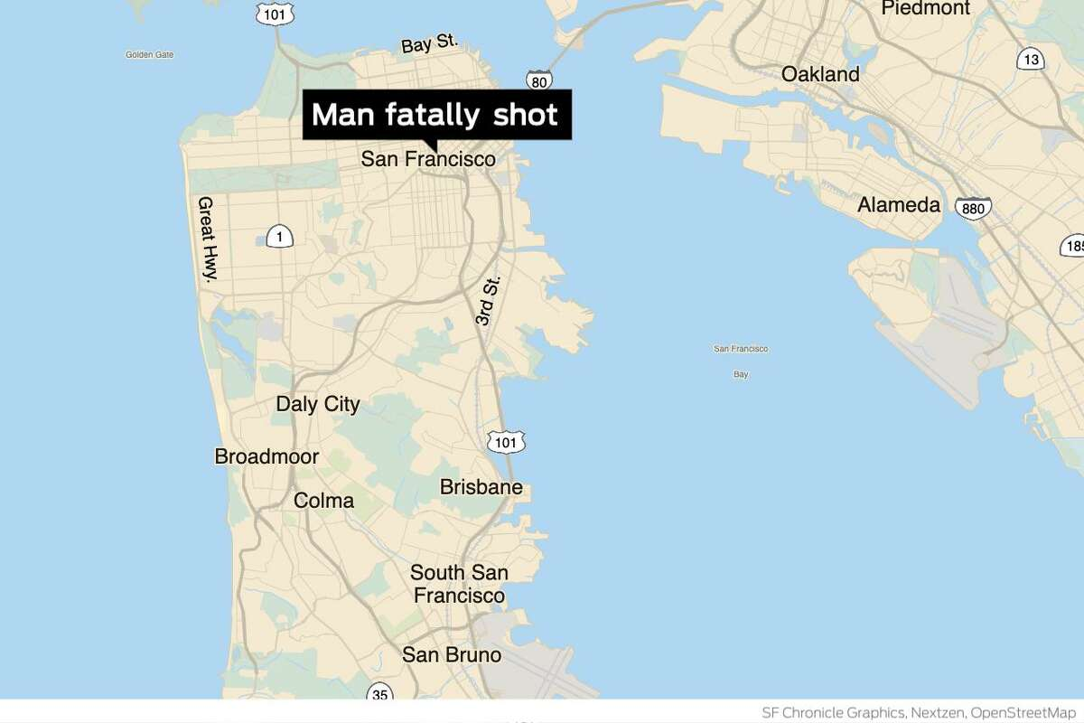 One man was killed and another was taken into custody after an early morning shooting Wednesday in San Francisco's SoMa neighborhood, police said.
