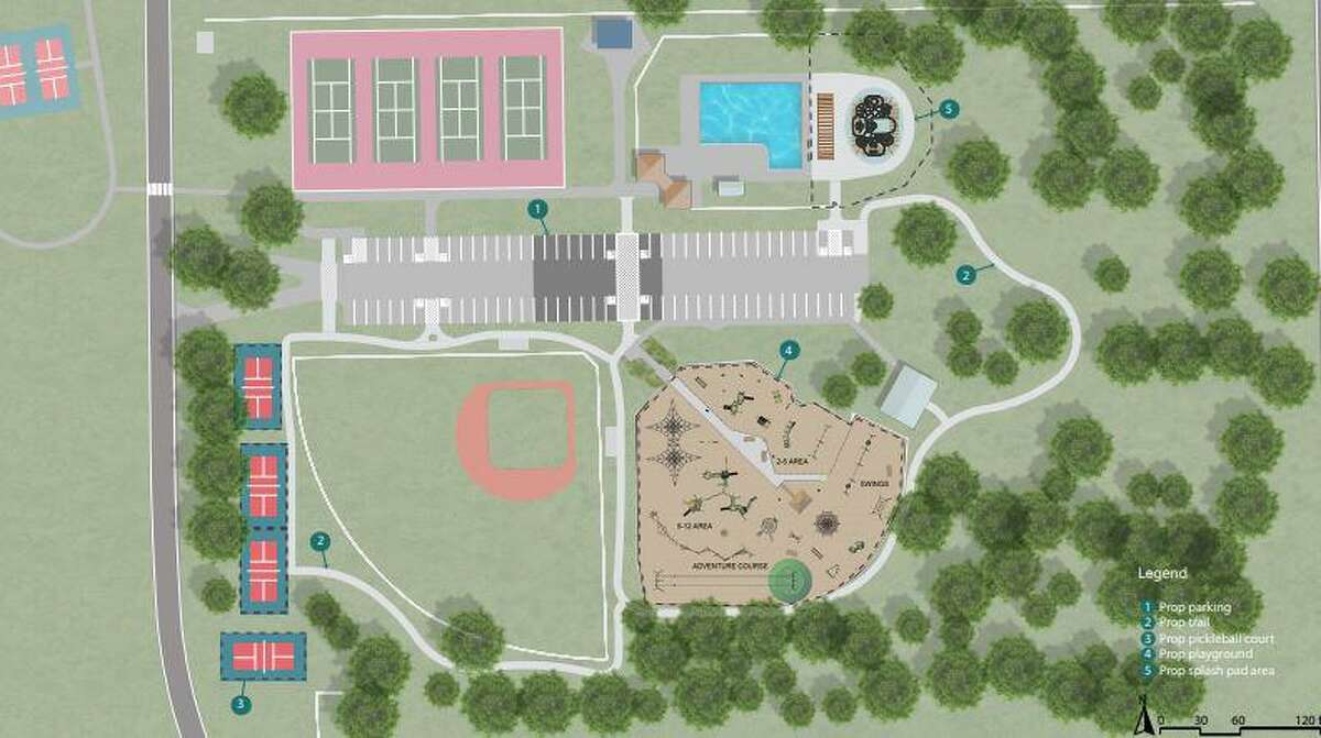 Planned improvements for Matheson Park, 1240 Ulrich Road.