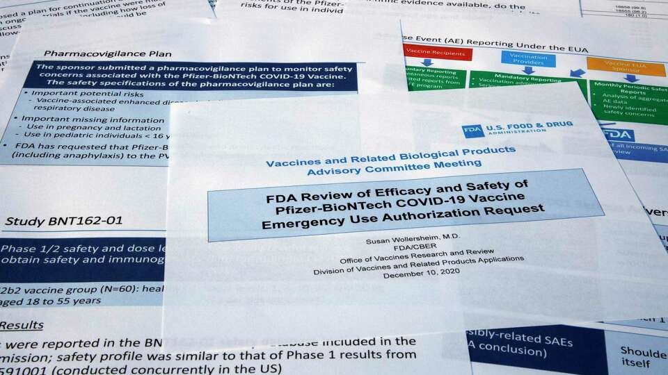 Vaccine panel recommends FDA authorize Pfizer's COVID-19 shot, doses could be in CT in days