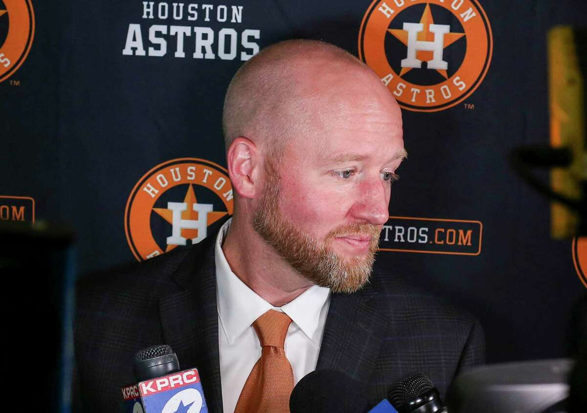 Since James Click was introduced as Astros general manager on Feb. 4, the Texans' Bill O'Brien and Rockets' Daryl Morey have joined Jeff Luhnow as former GMs of Houston sports teams.