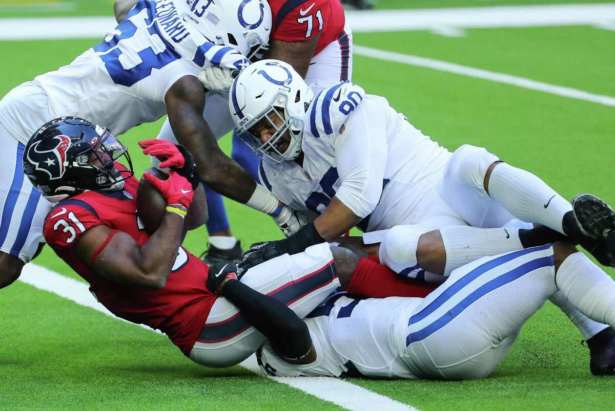 David Johnson and the rest of the Texans' running attack is averaging a league-worst 84.4 yards rushing.