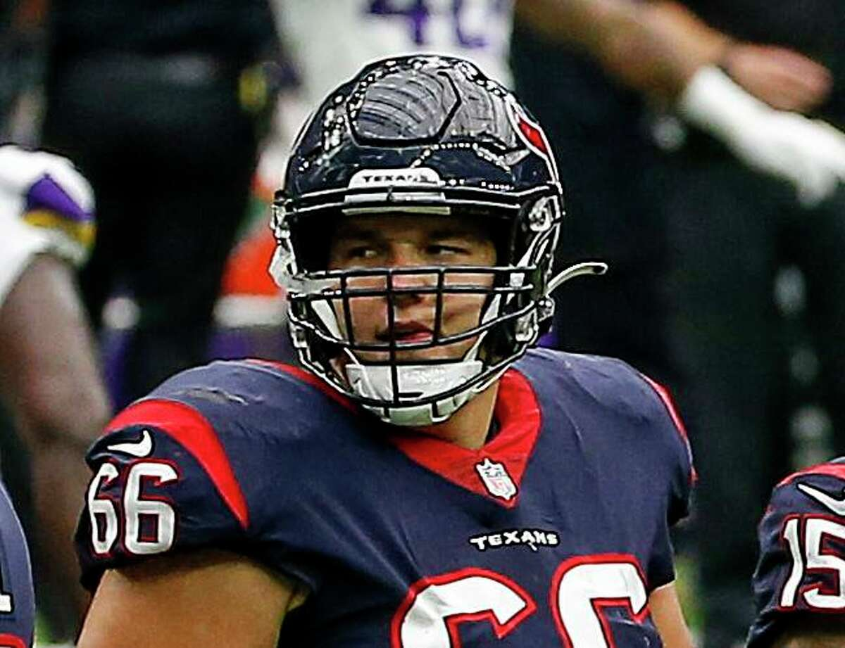 A former second-round draft pick from Notre Dame, Nick Martin is one of the highest-paid centers in the NFL with a three-year, $33 million contract.