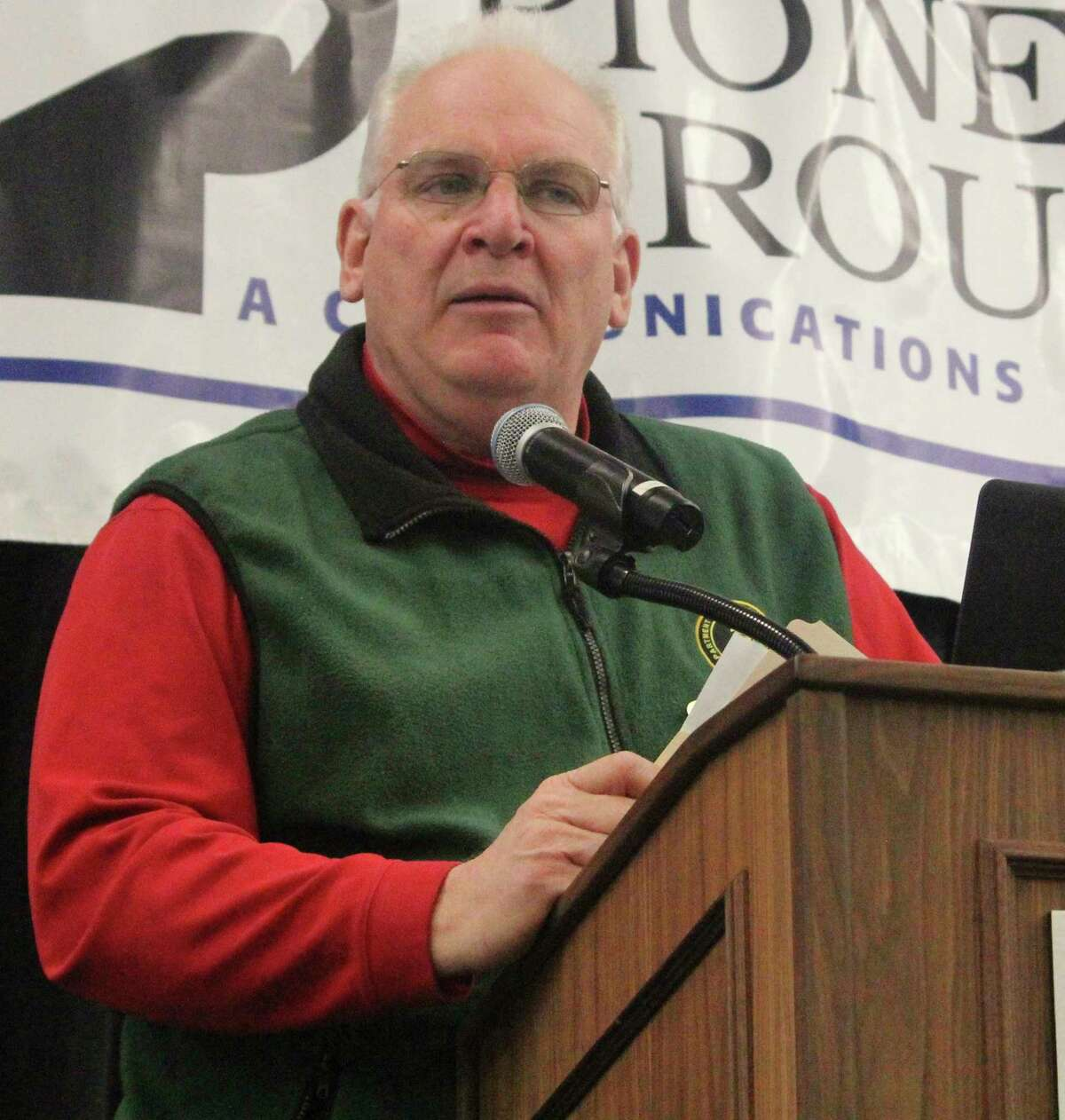 DNR wildlife biologist Pete Kailing noted it was windy during the firearm season. (Pioneer file photo)