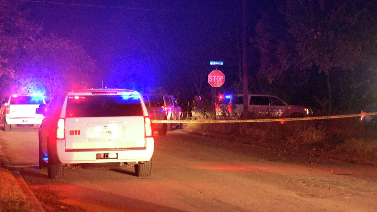 Two people were arrested after leading Bexar County deputies on a chase through San Antonio early Friday morning.