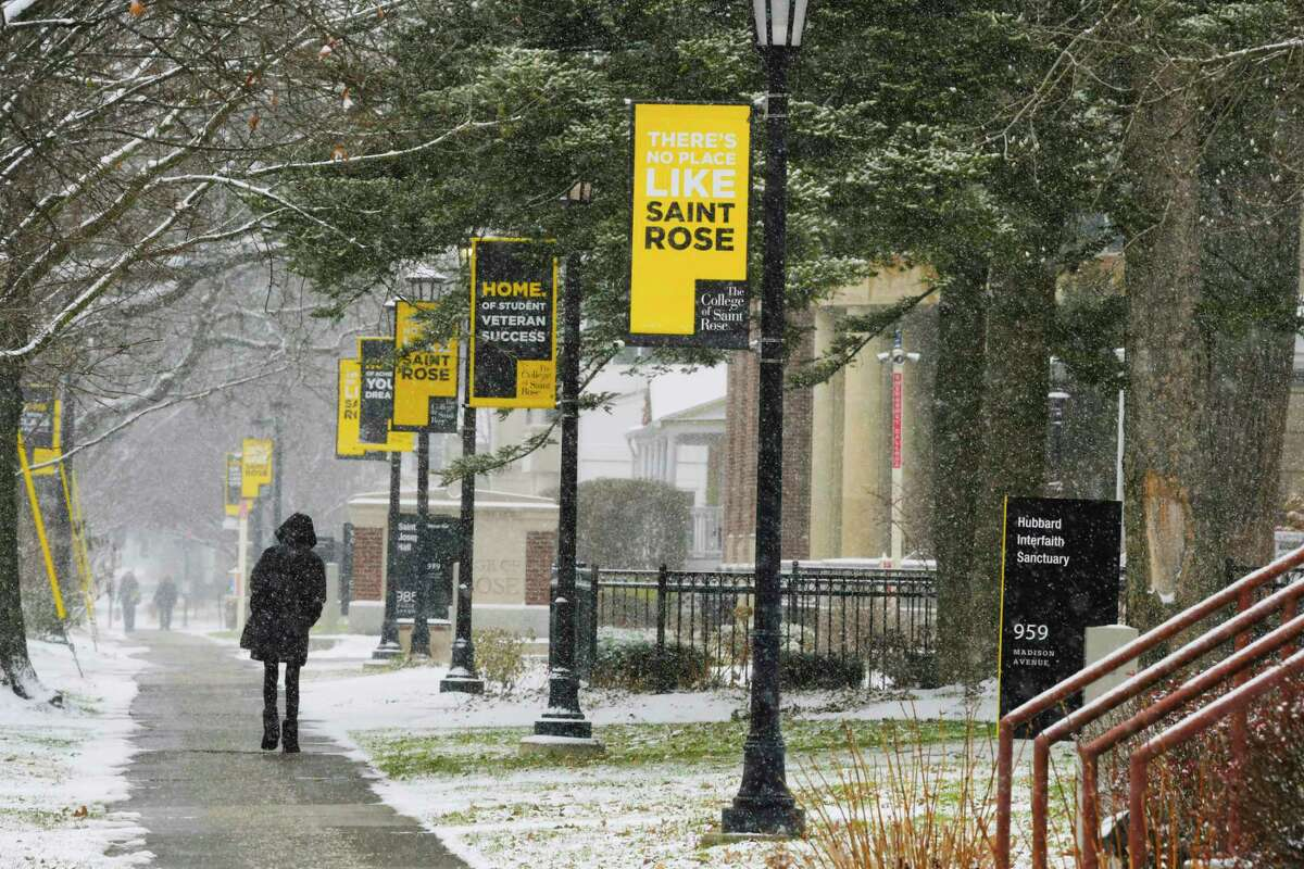 FILE. Letter writer urges community to save the College of Saint Rose. (Paul Buckowski/Times Union)