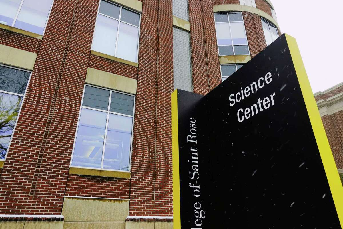 A view of the Science Center at The College of St. Rose on Wednesday, Dec. 9, 2020, in Albany, N.Y. The College of Saint Rose announced that it will end 16 bachelor degree, six master degree and three certificate programs to save money going forward. (Paul Buckowski/Times Union)
