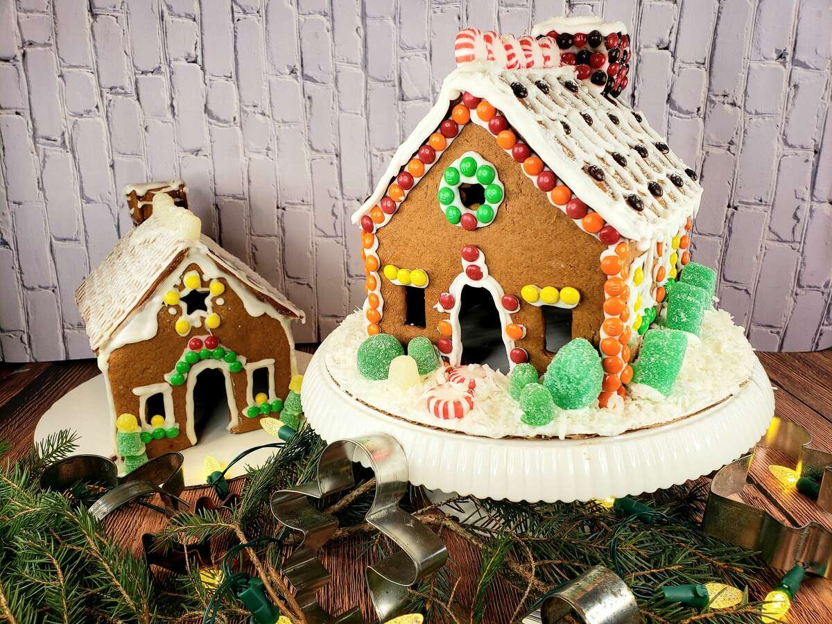 There are ways to make your gingerbread crisp and the icing stay put while making your gingerbread houses this holiday season.