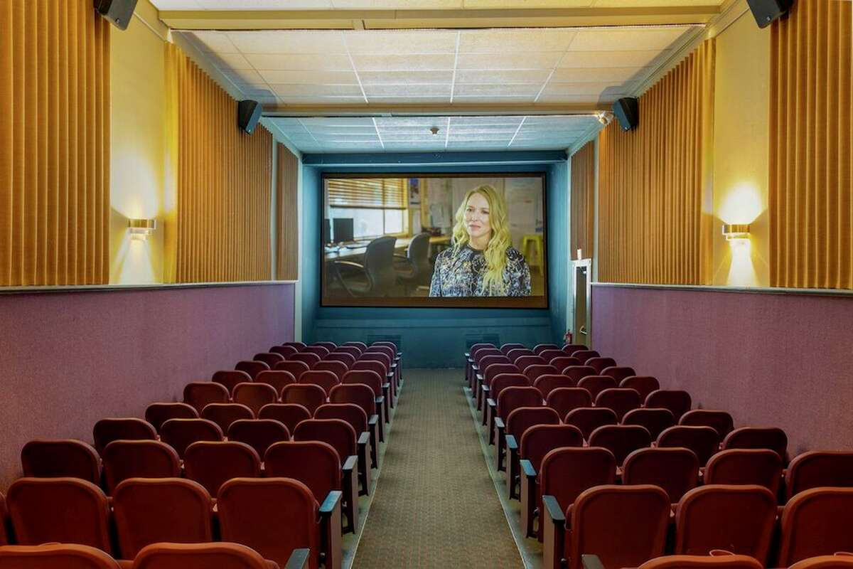 One of the cinema spaces in The Moviehouse in Millerton, N.Y.