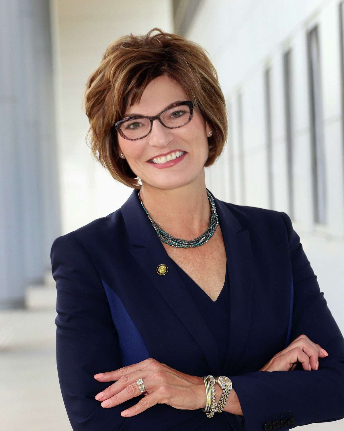 San Jacinto College Chancellor Brenda Hellyer says the college's plan to return to limited face-to-face classes is being done to help meet student needs.