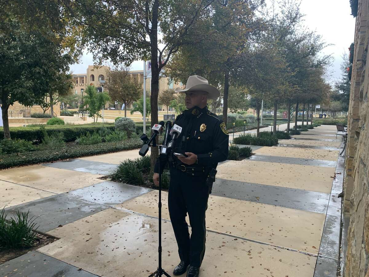 A 28-year-old man shot and a killed a woman who refused to hand over her cell phone to him, Bexar County Sheriff Javier Salazar said during a news conference Friday.