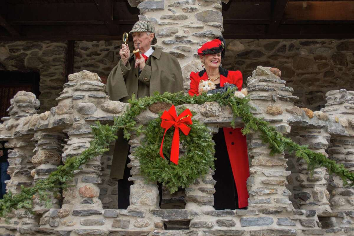 The grounds of Gillette Castle are open and welcoming visitors for the holiday season.