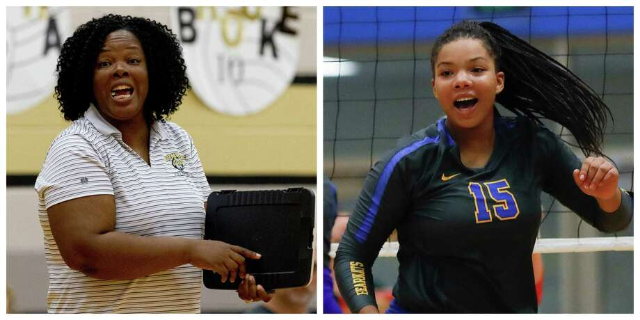 Conroe coach Charvette Brown, left, won a state title as a player with Cypress Creek in 1993. Her daughter, Ariana, will attempt to do the same with Klein on Saturday against Katy Seven Lakes. Photo: Jason Fochtman