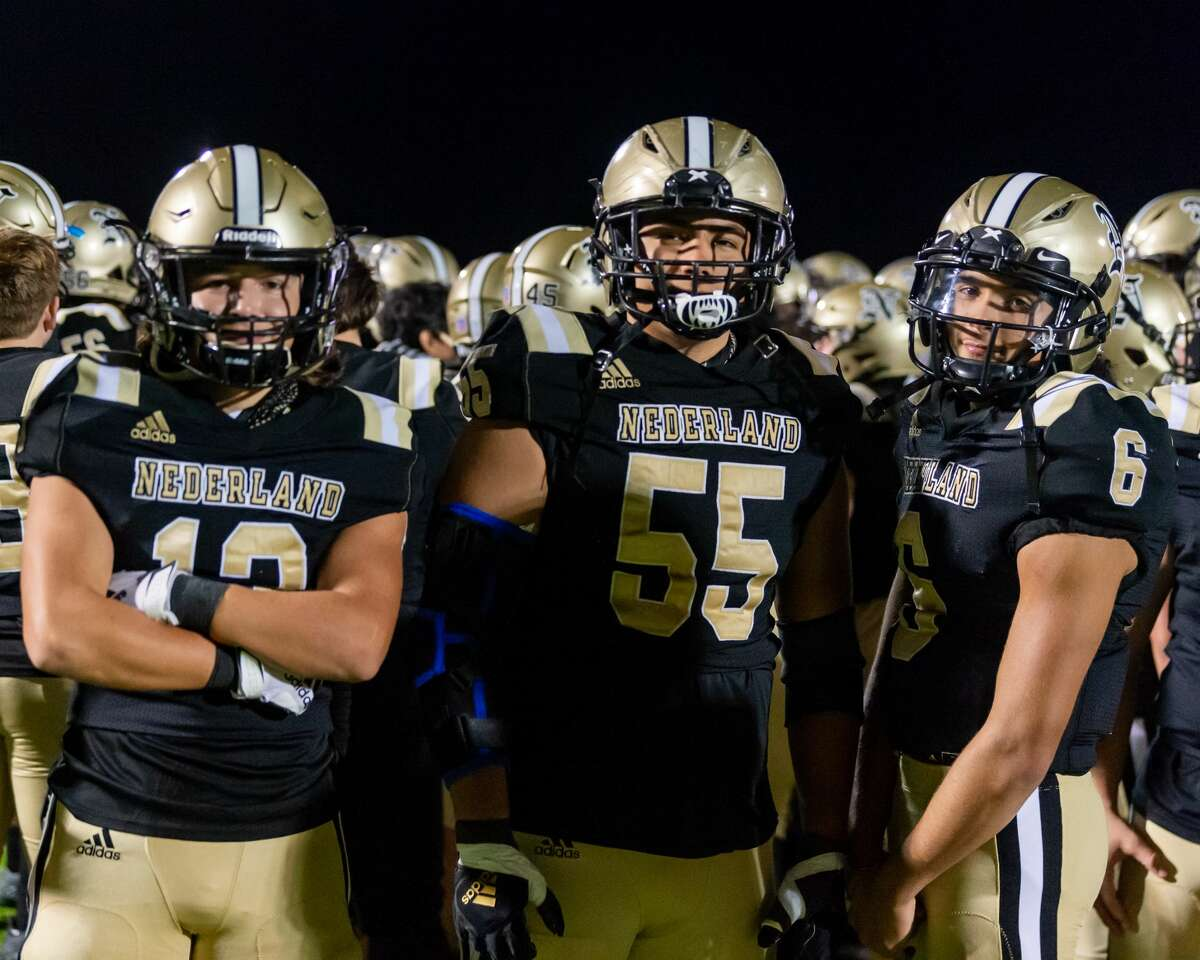 The Nederland Bulldogs shut out the Houston Sterling Raiders in bi-district football playoff action Thursday night. Photo maed on December 10, 2020. Fran Ruchalski/The Enterprise