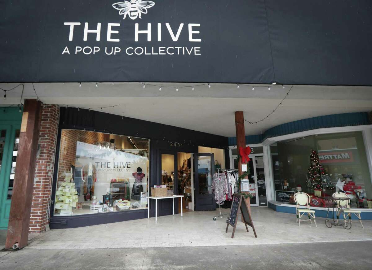 The Hive A Pop Up Collective Friday, Dec. 11, 2020, in Houston.