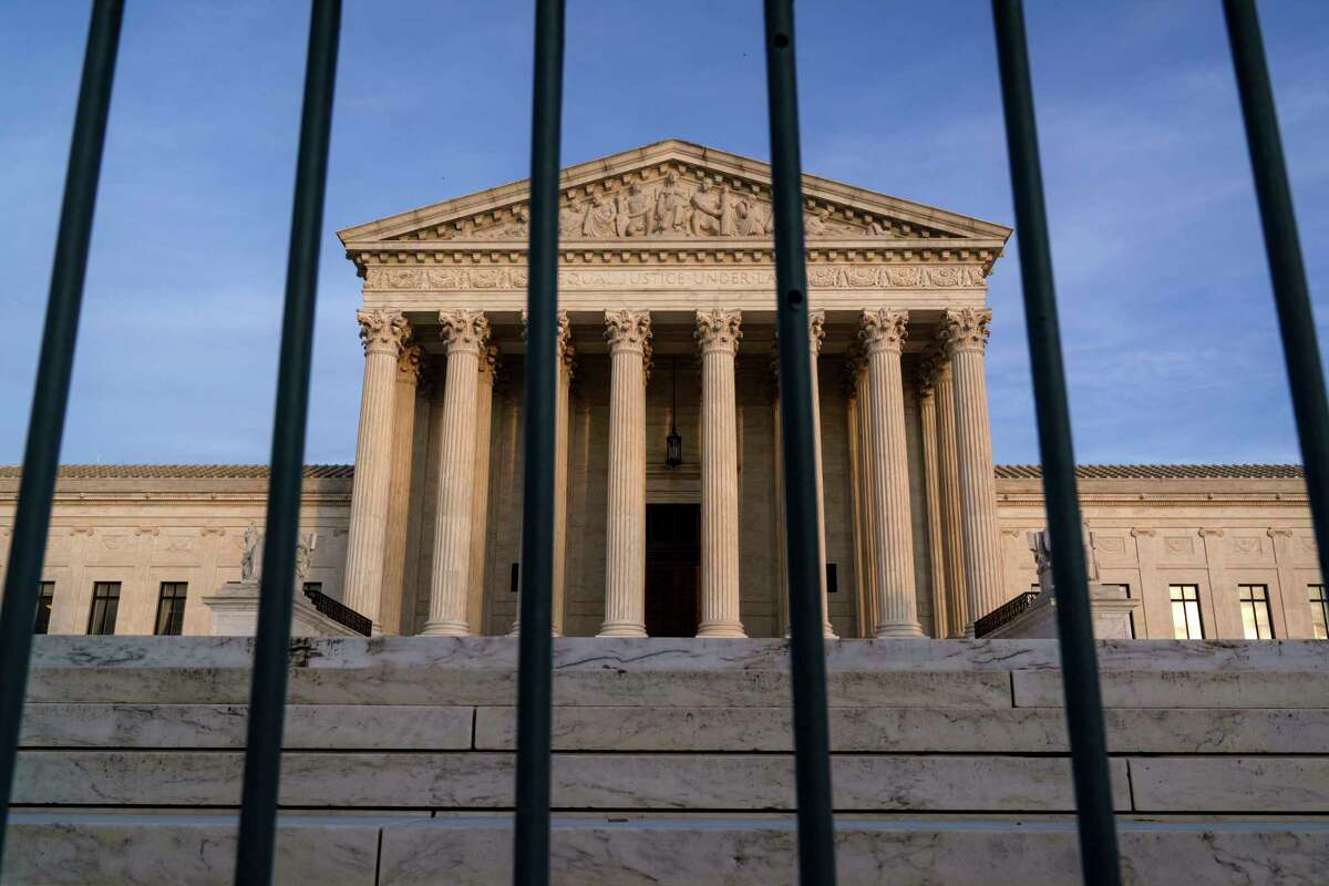 In this Nov. 5, 2020, file photo, the Supreme Court in Washington.