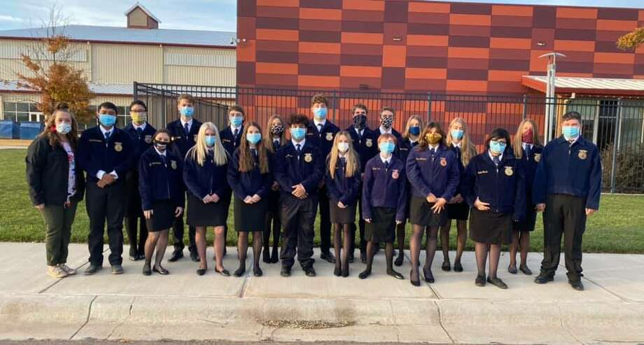 Cotton Center FFA members competed last month in leadership development events. Photo: Provided By Cotton Center FFA