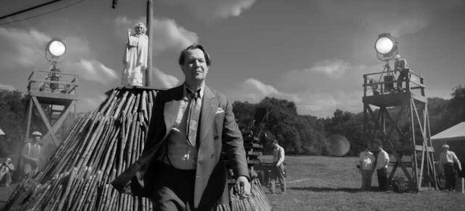 "In this image released by Netflix, Gary Oldman portrays Herman Mankiewicz in a scene from ""Mank."" Photo: Netflix Via AP"