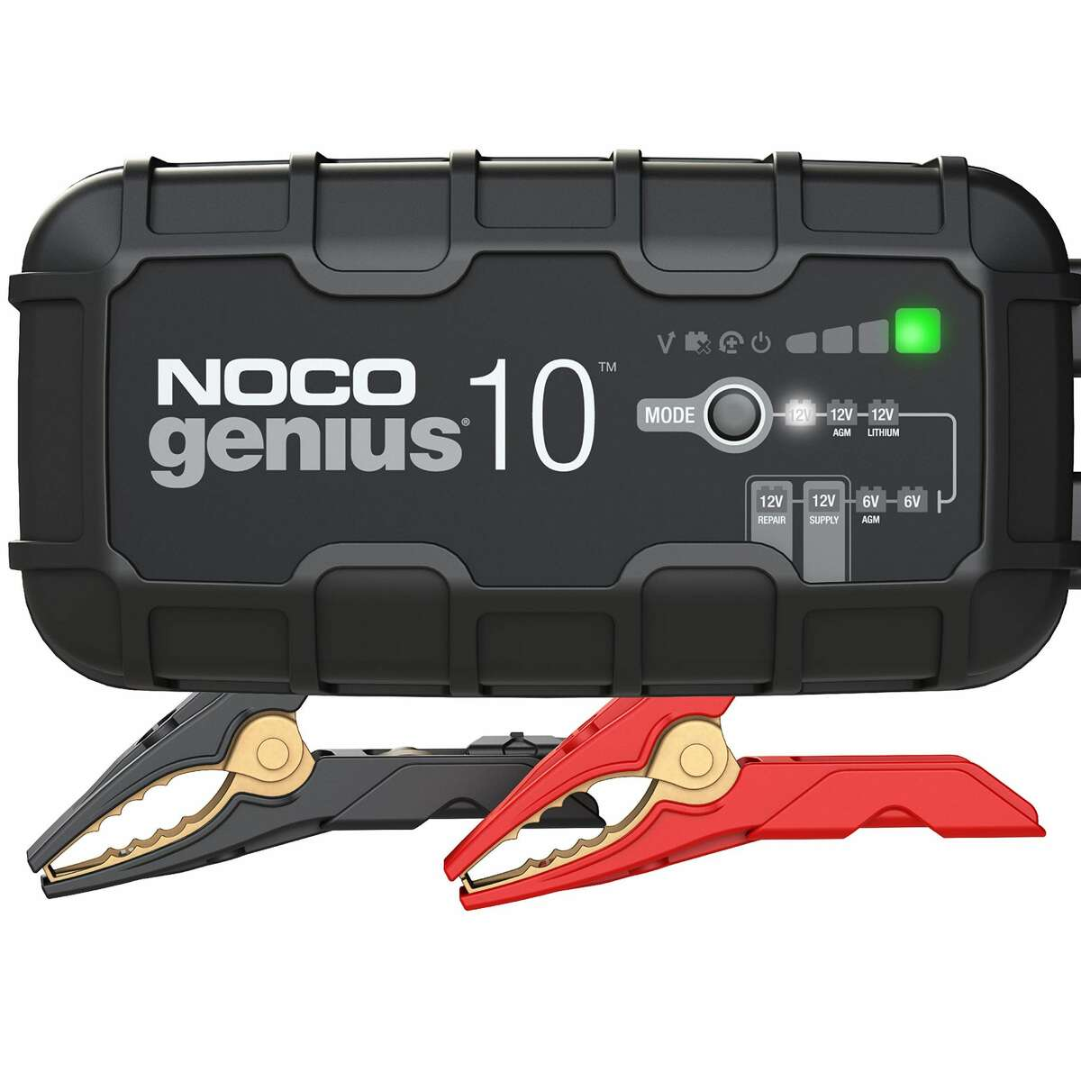 NOCO's Genius10 battery charger/maintainer is largely automatic.