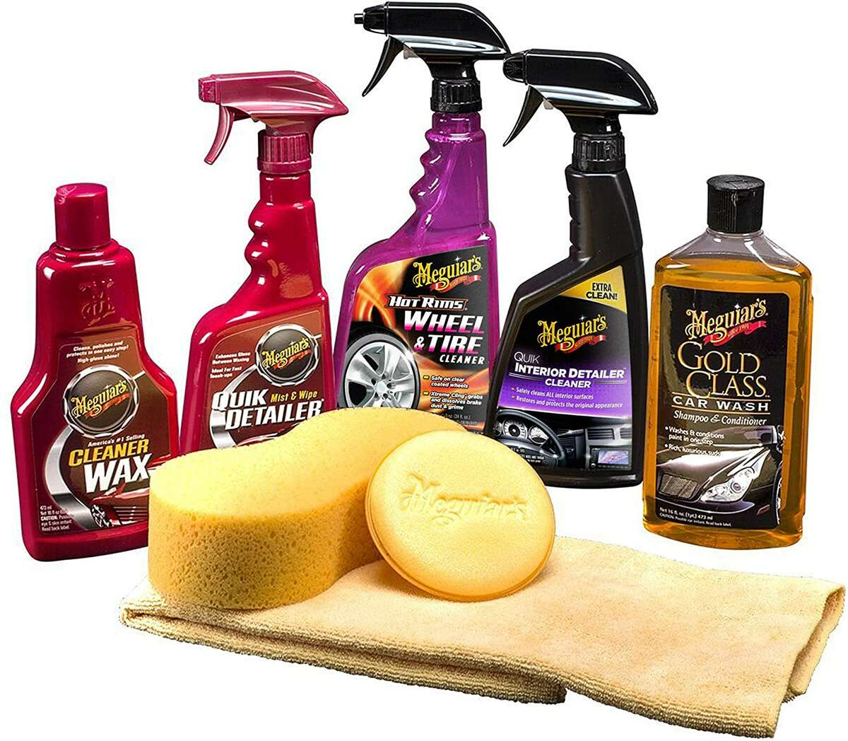 Meguiar's Classic Wash and Wax kit is comprehensive.