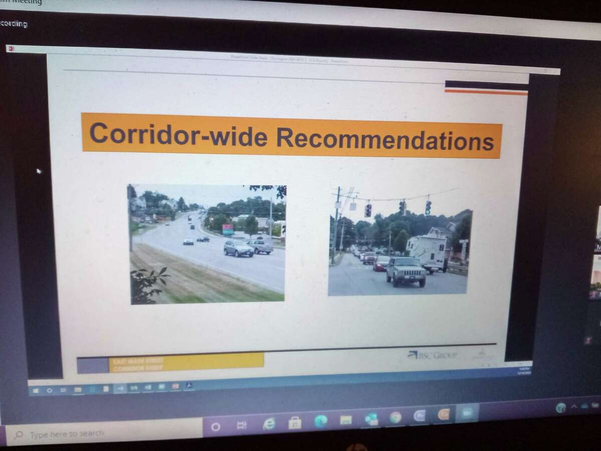Consultants working for the city presented their findings on an East Main Street Corridor Study during an online meeting Thursday.