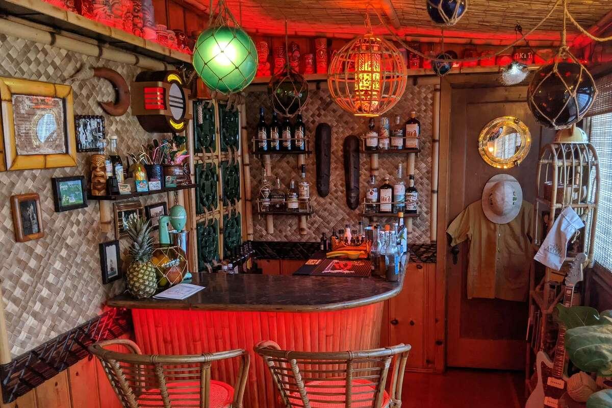 Trader Sampson's Cocoanut Canteen, a home tiki bar in Echo Park