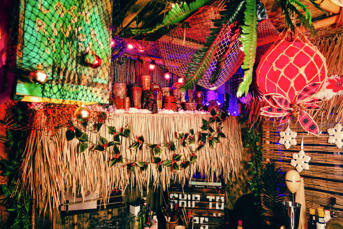 Nicholas Petty built his own special effects for Echo Island, like a fountain above the bar