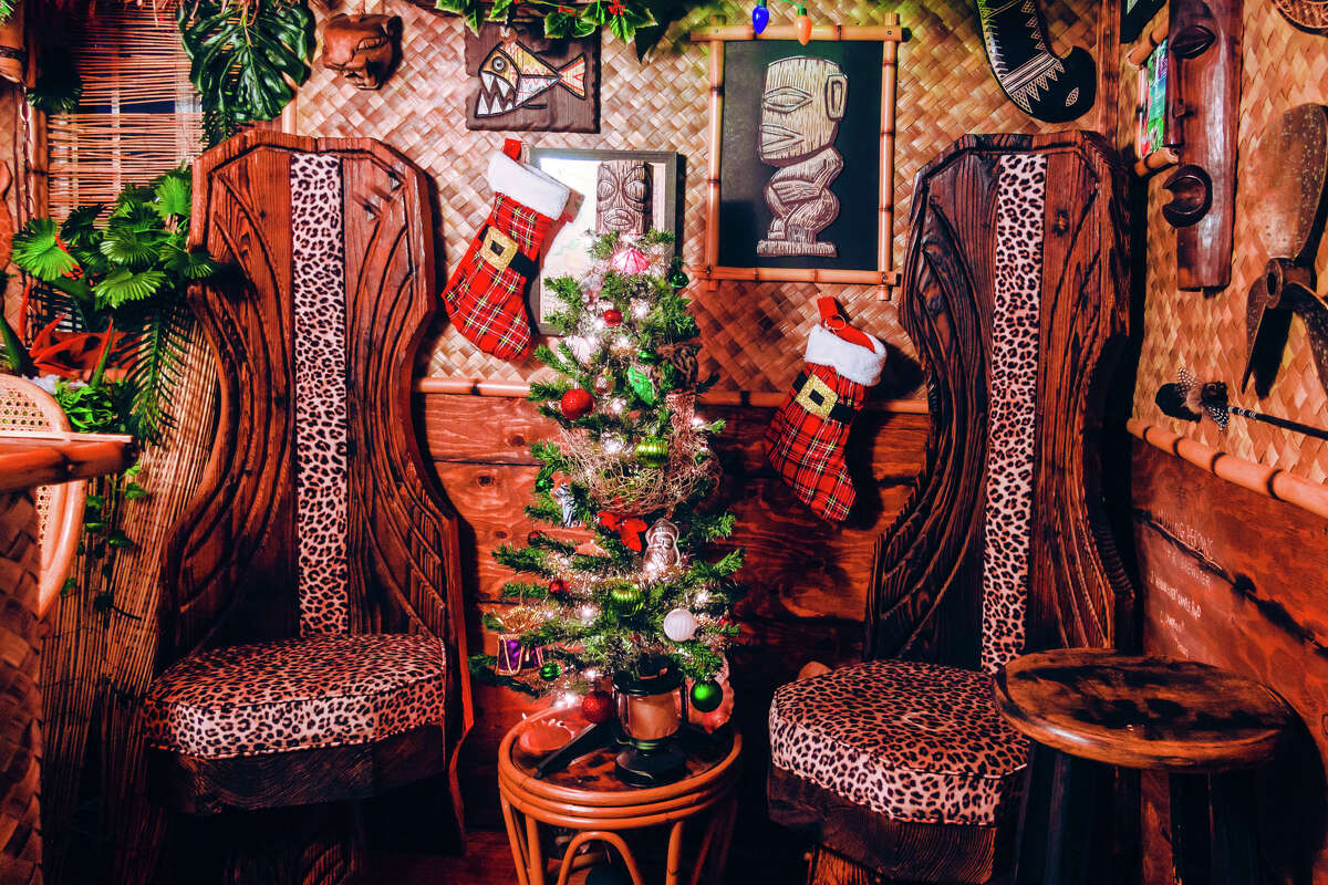 Holiday touches inside Echo Island