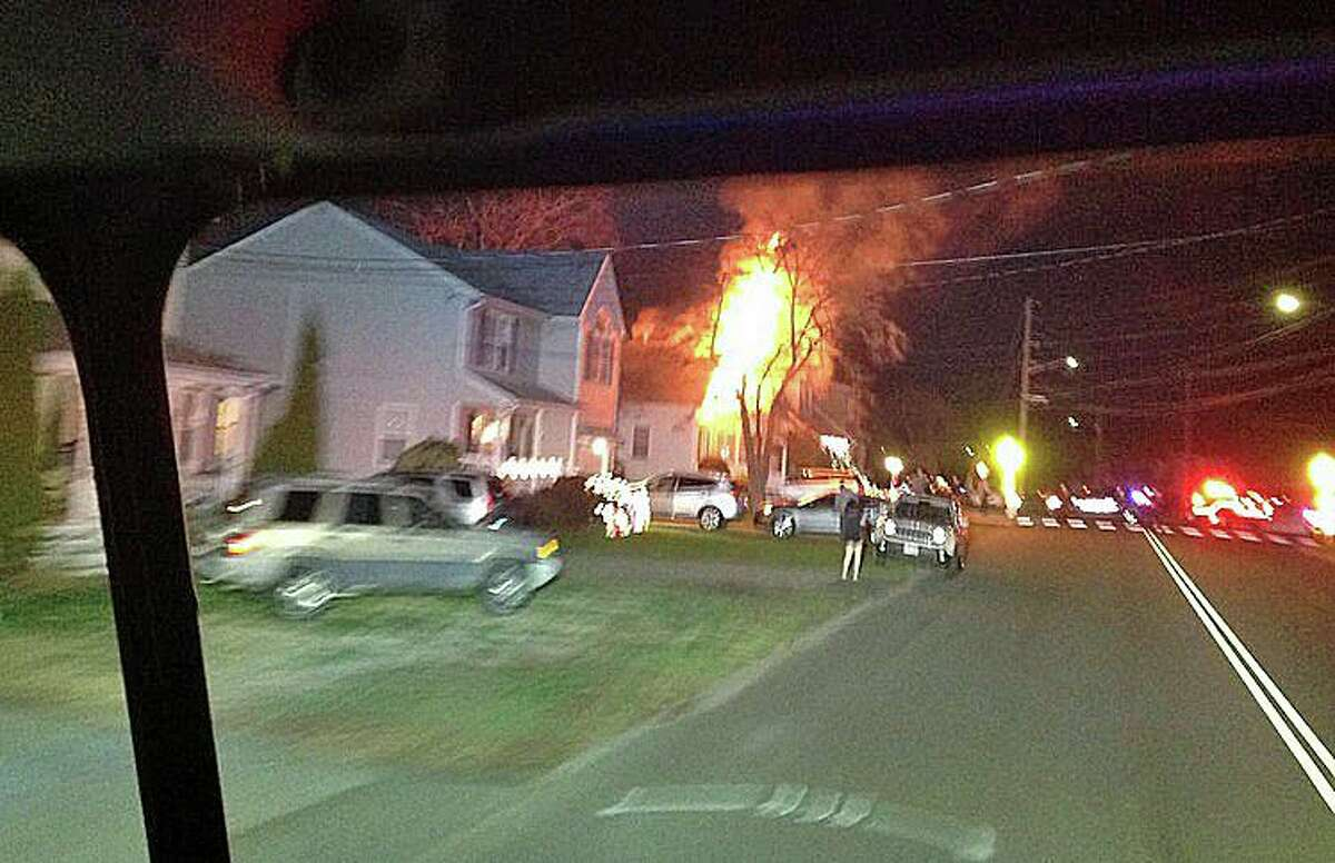 Seven people and two cats and one dog safely escaped from a Broadridge Avenue house that caught fire Thursday night on Dec. 10, 2020, according to Assistant Fire Chief/Marshal Robert Daniel. The call came in at 10:17 p.m. for a structure fire on Broadbridge Ave.
