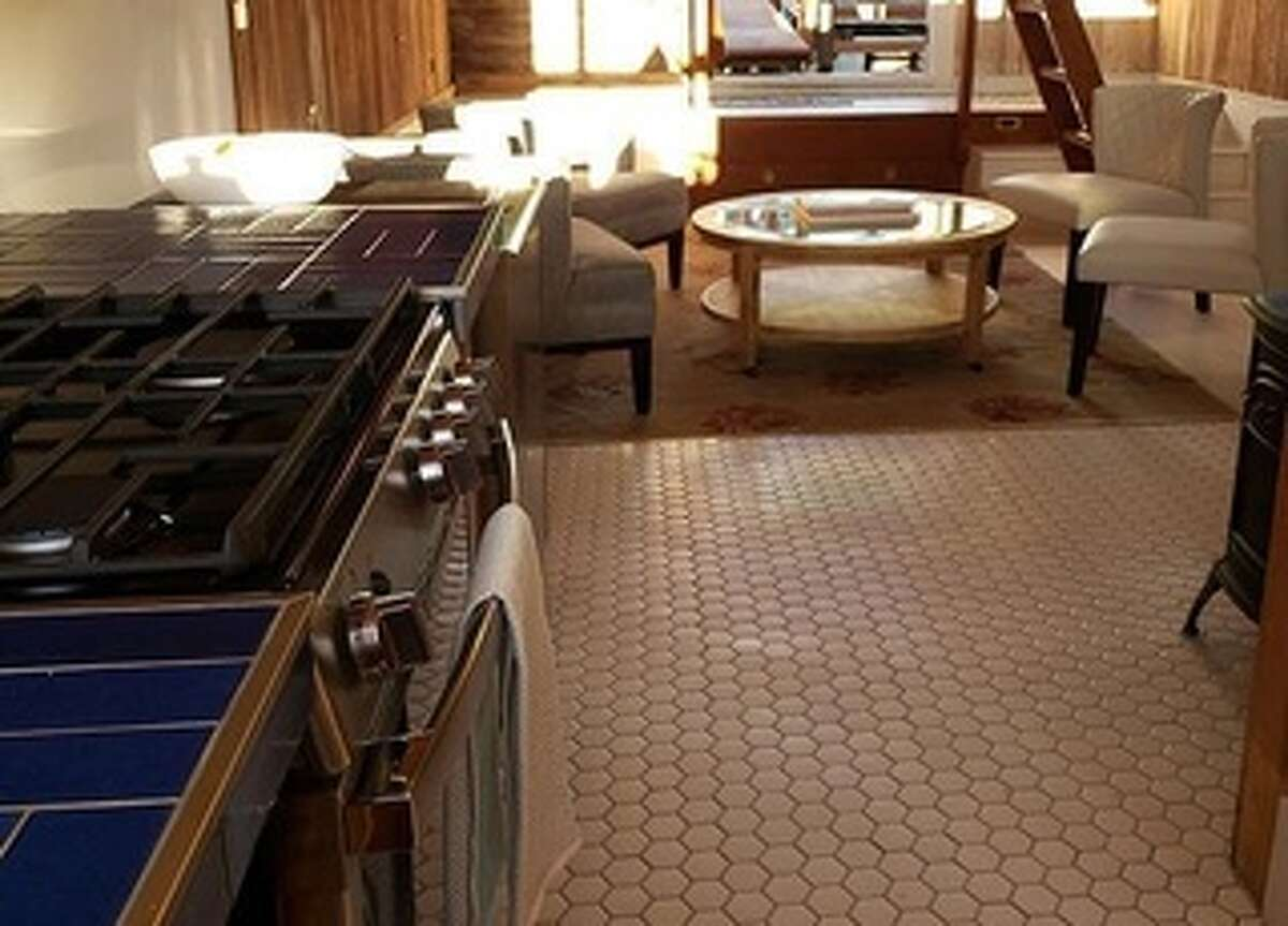 The Starrs updated the kitchen with new Heath tiles on the counters and a new oven.