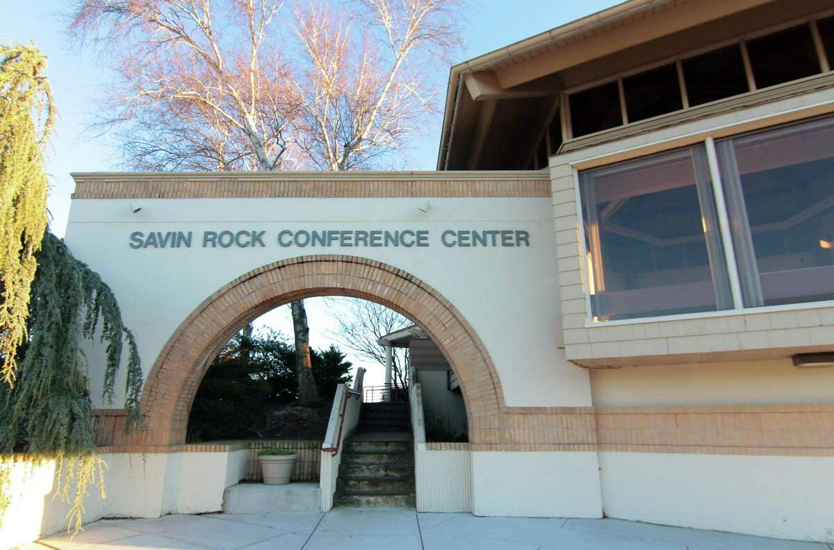A view of Savin Rock Conference Center in West Haven Dec. 10, 2020.