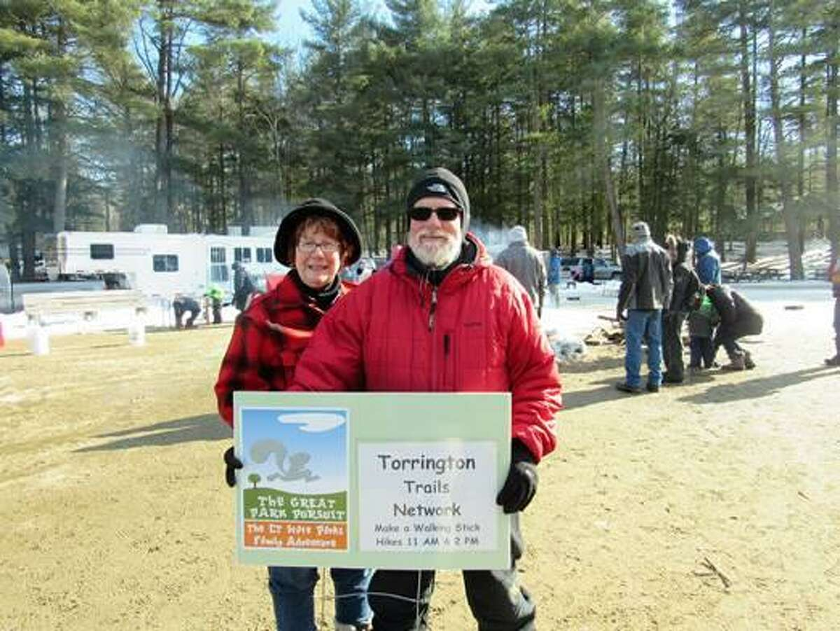 Members of the Torrington Trails Network led a First Day Hike at Burr Pond State Park on Jan. 1, 2019. Members of the Northwest Hills Council of Governments endorsed the completed Naugatuck River Greenway Thomaston to Torrington Routing Feasibility Study Report this week, taking another step toward providing residents with a recreational opportunity for the future.