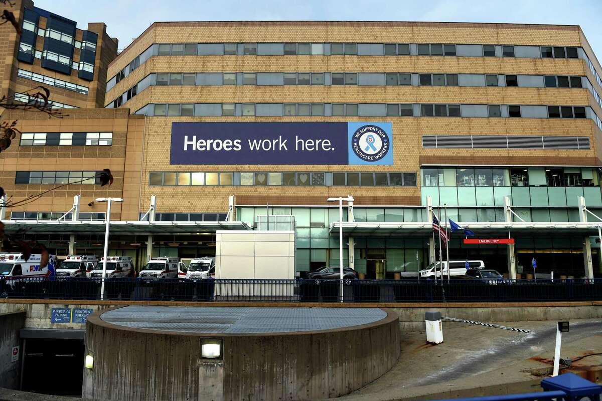 Yale New Haven Hospital, December, 2020.